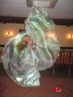 Крылья для танца живота, перламутр