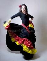 Пошив костюмов для цыганских танцев.