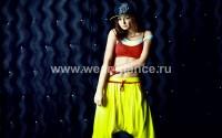 Одежда для хип хоп (желтый / красный)